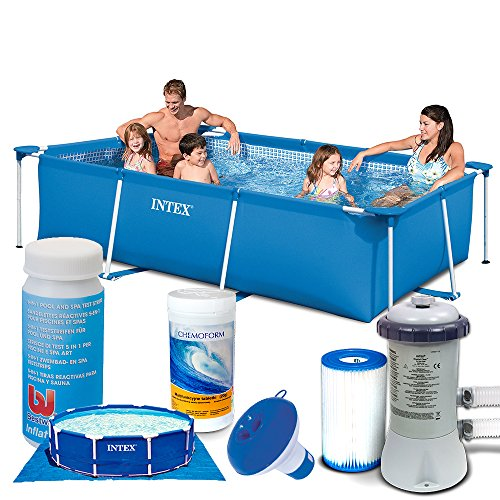 aufstellpool intex 28272 7in1 frame pool. Black Bedroom Furniture Sets. Home Design Ideas
