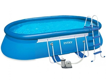 aufstellpool intex oval frame pool set aufstellpool ratgeber. Black Bedroom Furniture Sets. Home Design Ideas