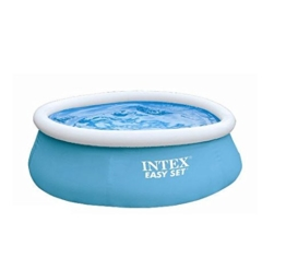 Intex Aufstellpool Easy-Pool Set, blau, Ø 183 x 51 cm -