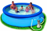 Intex Aufstellpool Easy Set Pools®, Blau, Ø 366 x 76 cm -