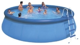 Intex Aufstellpool Easy Set Pools®, Blau, Ø 457 x 122 cm -