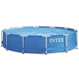 Intex Aufstellpool Frame Pool Set Rondo, Blau, Ø 366 x 76 cm -