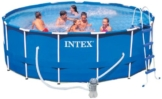 Intex Aufstellpool Frame Pool Set Rondo, TÜV/GS, Blau, Ø 457 x 122 cm -