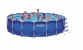 Intex Aufstellpool Frame Pool Set Rondo, TÜV/GS, Blau, Ø 549 x 122 cm -