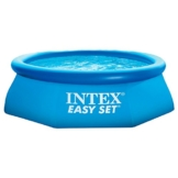 Intex Easy Set Aufstellpool, blau, Ø 244 x 76 cm -